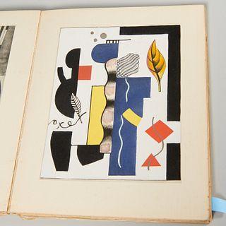 Teriade, Fernand Leger, with 5 pochoirs, #562/800