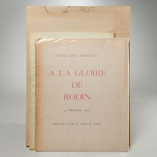 Auguste Rodin, (3) limited editions