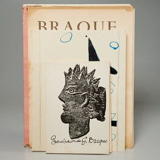 Georges Braque, (4) vols. reference