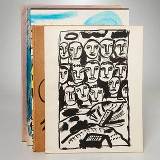 (5) Vols: Chagall, Leger, Braque