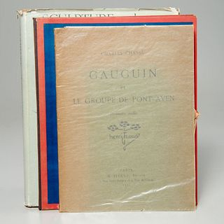 Paul Gauguin, (3) vols. reference