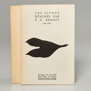 [Jean Arp] Pierre-Andre Benoit, (2) volumes