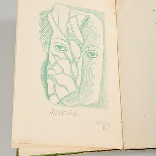 [Pascin, Ernst, Toyen, Fini] (4) signed volumes