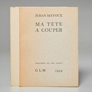 [Bellmer, Tanguy] Jehan Mayoux, (2) vols.
