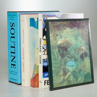 (5) Catalogues Raisonne incl. Matta, Fini, Leger