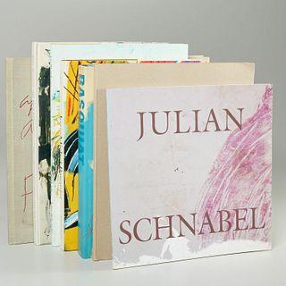 (7) vols., artists incl. Basquiat, Joan Mitchell