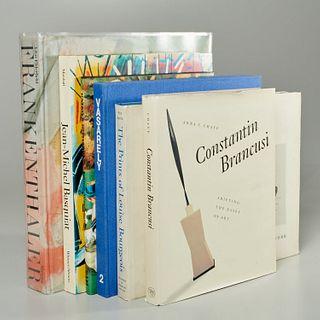 (6) vols., artists incl. Frankenthaler, Brancusi