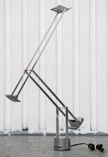 Artemide Modern Chrome Tizio Counter Balance Lamp
