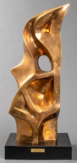 "Seymour Meyer ""La Tete"" Large Bronze Sculpture"
