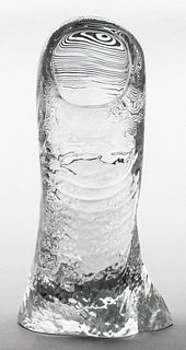 "César for Baccarat ""Le Pouce"" Crystal Thumb, 16"" H"