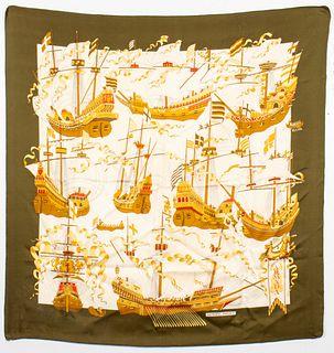 "Hermes ""Armada"" Silk Scarf"