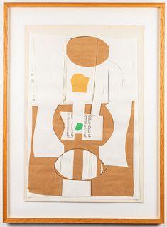 "Ernest Frazier ""Homage to Form"" Collage"