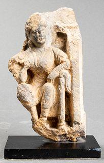 Gandhara Figural Carved Stone Fragment
