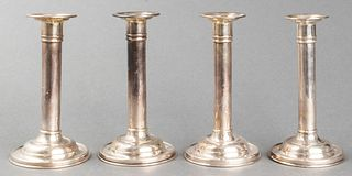 Gorham Sterling Silver Candlesticks, Group of 4