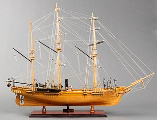 CSS Alabama Confederate States Navy Model Ship