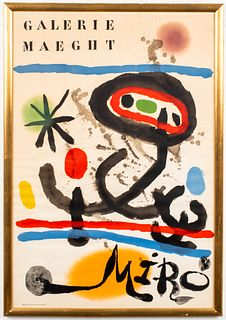 Joan Miro Galerie Maeght Exhibition Poster