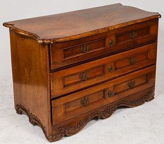 Dutch Fruitwood Commode, Antique