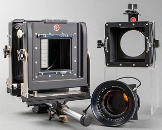 Calumet 4 x 5 Monorail View Camera with Lens