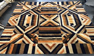Edward Fields Geometric Carpet 14' x 16'