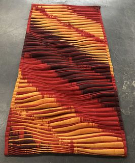Lia Cook Woven Tapestry / Textile 6' x 3'