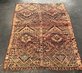 Moroccan Flatweave Rug 7' x 5'