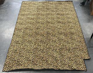 Modern Cheetah Print Carpet 13' x 9'