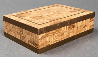 Maitland Smith Attr. Tessellated Dresser Box