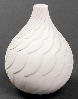 """Vintage Jonathan Adler """"Charade"""" Porcelain Vase"""