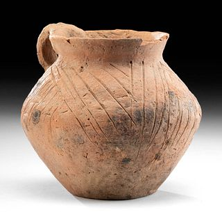 Chinese Neolithic Incised Pottery Cup