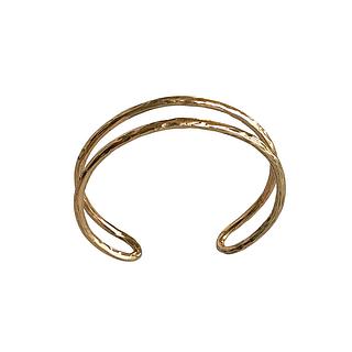 Loop Cuff Bracelet - Bronze