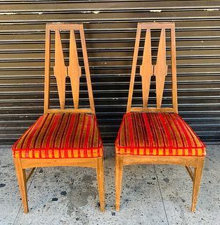 Pair of Midcentury Modern Side/Dining Chairs