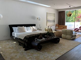 King Size Bed by Antonio Citterio, FEBO Collection