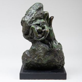 After Auguste Rodin (1840-1917): Le Main de Dieu