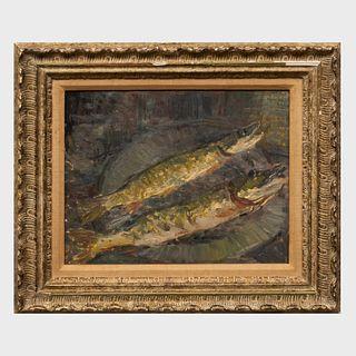After Édouard Vuillard (1868-1940): Two Fish on a Plate