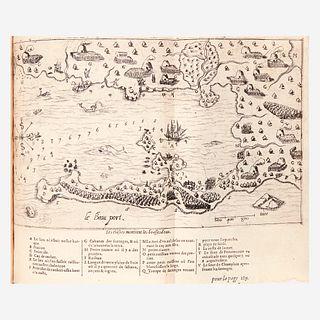 [Americana] [Champlain, Samuel de], Les voyages du sieur de Champlain...