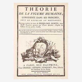[Art] Rubens, Peter Paul, Theorie de la figure humaine, consideree dans ses principes, soit en repos ou en mouvement...