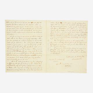 [Autographs & Manuscripts] Webster, Daniel, Autograph Letter, signed