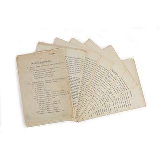 [Autographs & Manuscripts] [World War II], Original German Surveillance Dossier on the Activities of Crown Prince Rupprecht of Bavar...