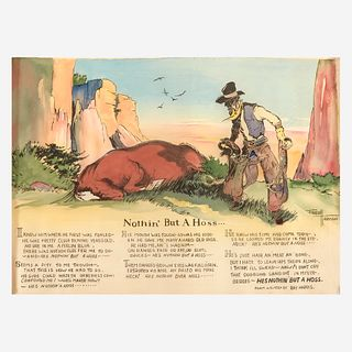 [Children's & Illustrated] Harman, Fred, Nothin' But a Hoss...
