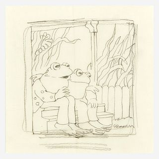 [Children's & Illustrated] Lobel, Arnold, Frog and Toad went out to wait for the mail