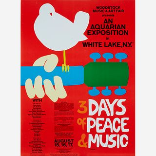 [Counter-Culture] Skolnick, Arnold, Woodstock Music & Art Fair