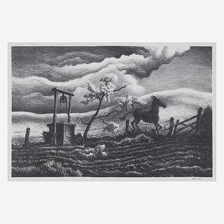 [Prints] Benton, Thomas Hart, Frisky Day
