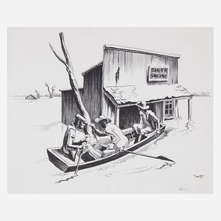 [Prints] Benton, Thomas Hart, Investigation
