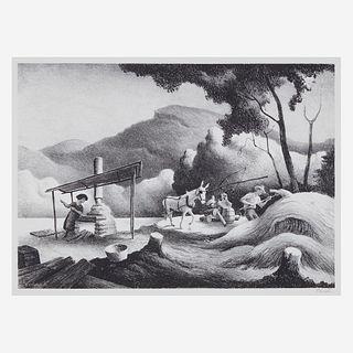 [Prints] Benton, Thomas Hart, Sorghum Mill