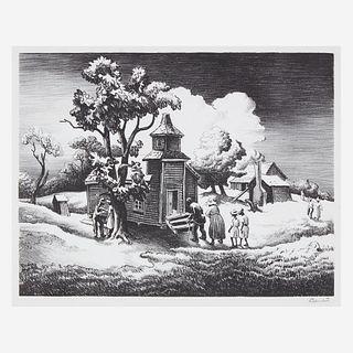 [Prints] Benton, Thomas Hart, Sunday Morning