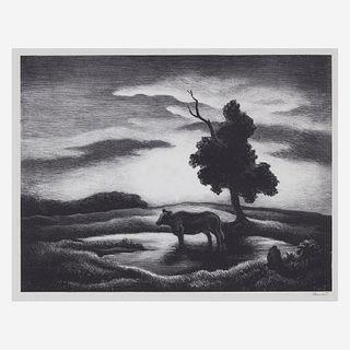 [Prints] Benton, Thomas Hart, Sunset