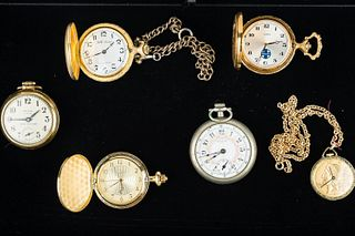 Grouping of Pocket Watches