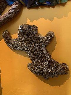 Climbing Baby Bear (Gold)