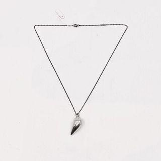 Small Georg Jensen Sterling Silver 2007 Artist Heart Pendant Locket