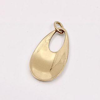 Georg Jensen 18kt Gold Pendant #986